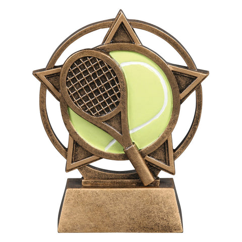 Tennis Orbit Resin Trophy