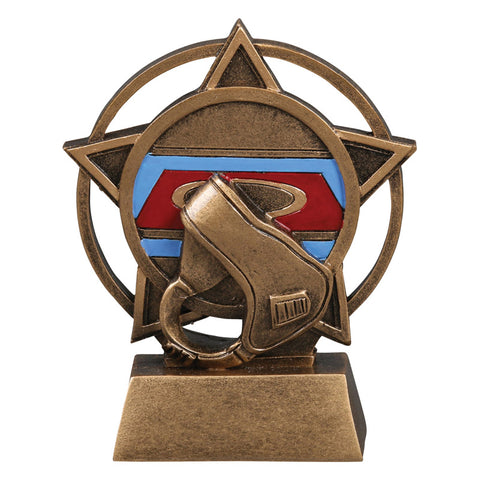 Wrestling Orbit Resin Trophy