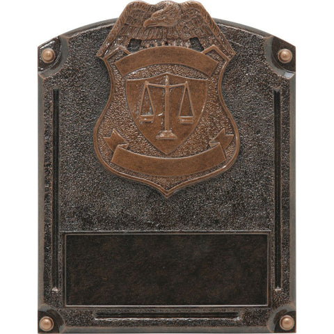 Police Legends of Fame Resin
