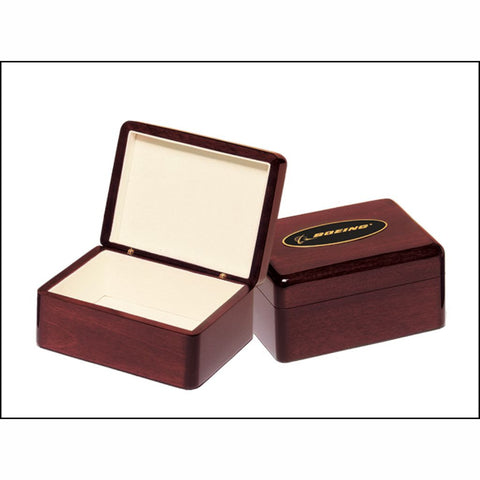 Rosewood Stained Piano Finish Jewelry Box, 2 Sizes