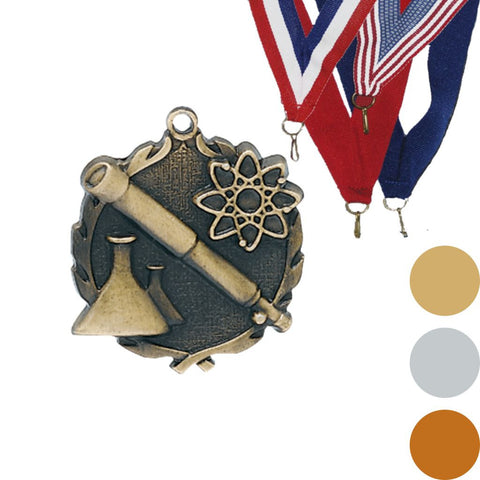 Science Wreath Medal, 1 3/4""