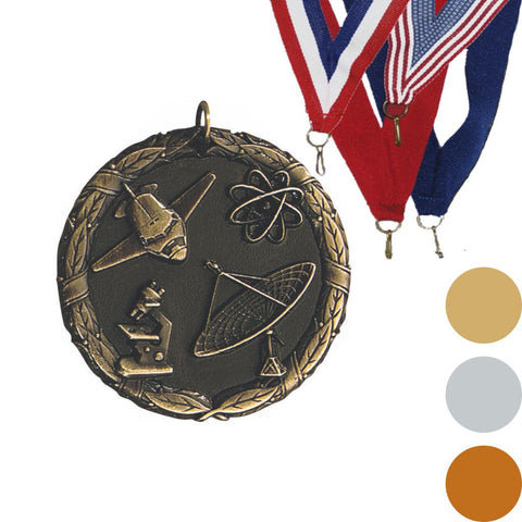 Science XR Medal, 2""