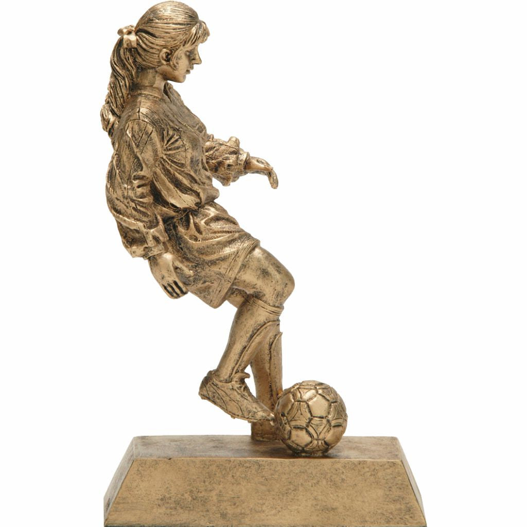 Soccer, Female, Resin Figure
