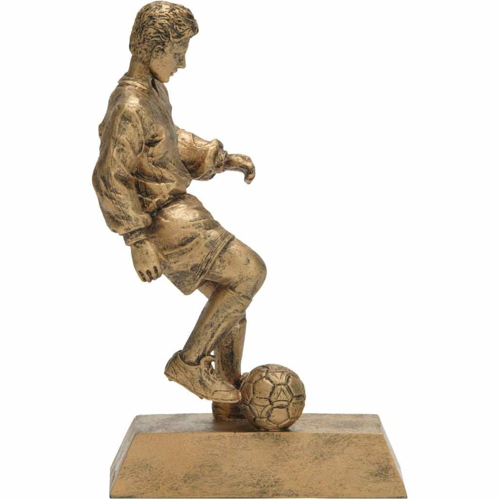 Soccer, Male, Resin Figure