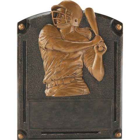 Softball Legends of Fame Resin