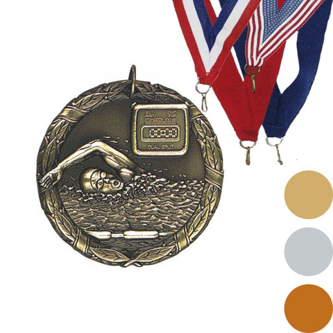 Swimming XR Medal, 2""
