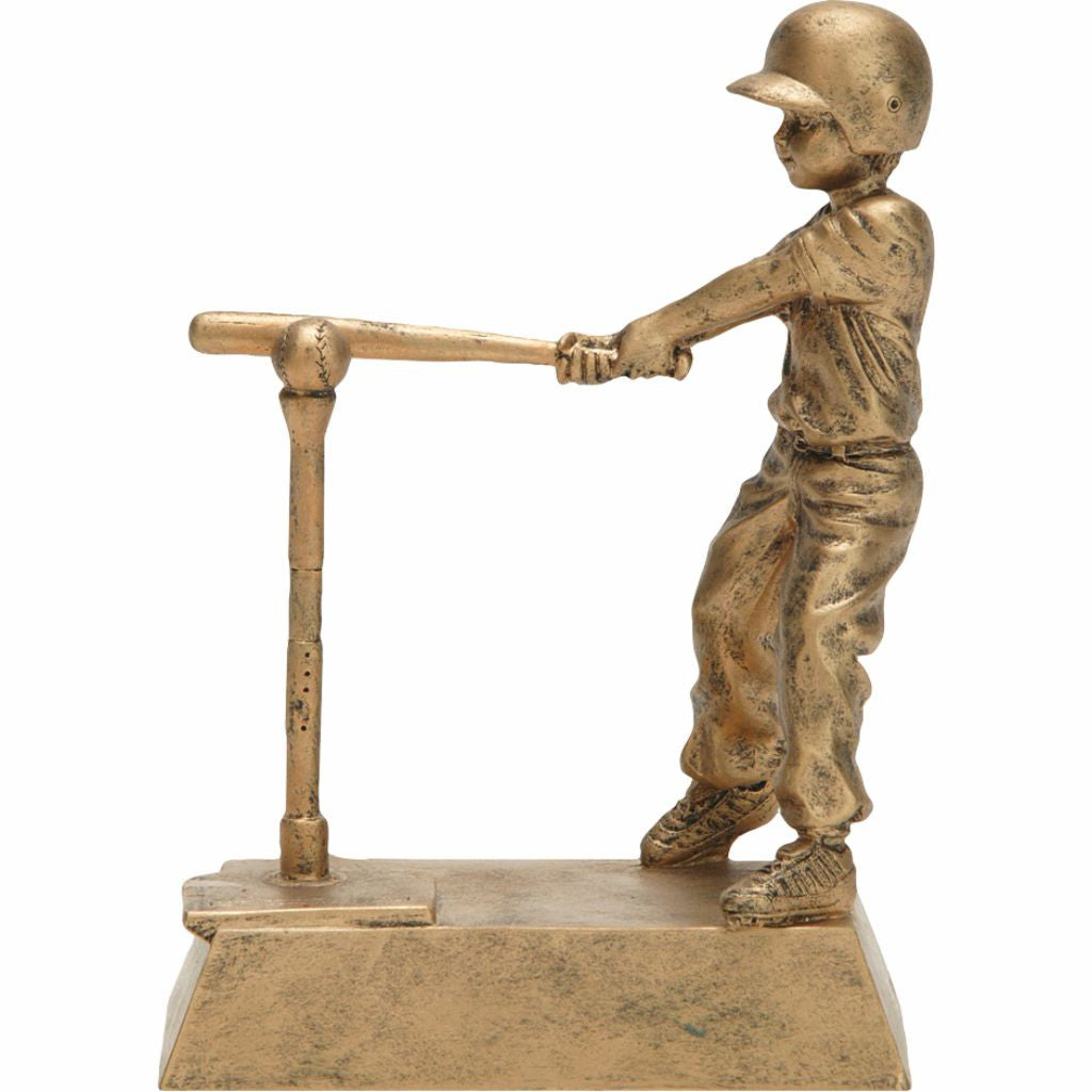 T-Ball, Male, Resin Figure
