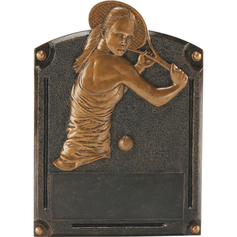 Tennis, Female, Legends of Fame Resin