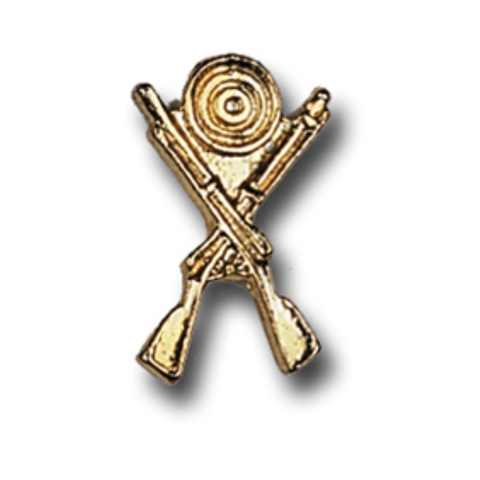 Trapshoot Metal Chenille Letter Insignia with Optional Display Case, Pack of 25