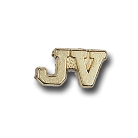 JV Metal Chenille Letter Insignia with Optional Display Case, Pack of 25