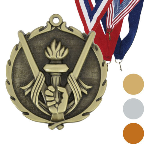 Victory Wreath Medal, 2 1/2""