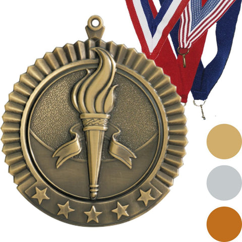 Victory Star Medal, 2 3/4""