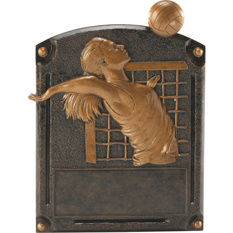 Volleyball, Female, Legends of Fame Resin