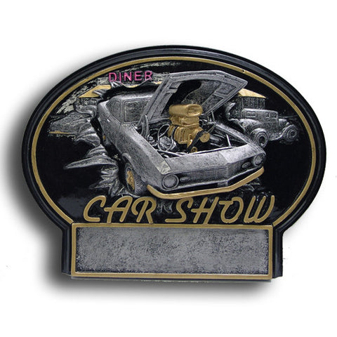 Car Show Burst Thru Resin Trophy