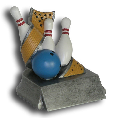 Bowling Classic Resin Trophy