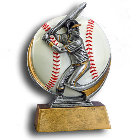 Baseball Full Color Motion Extreme Resin Trophy