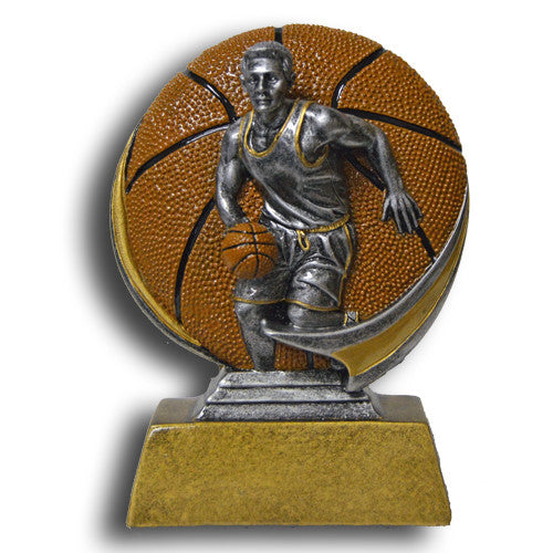 Basketball, Male, Full Color Motion Extreme Resin