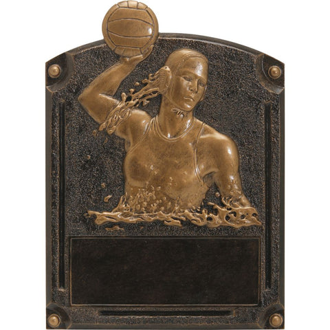 Water Polo, Female, Legends of Fame Resin Trophy