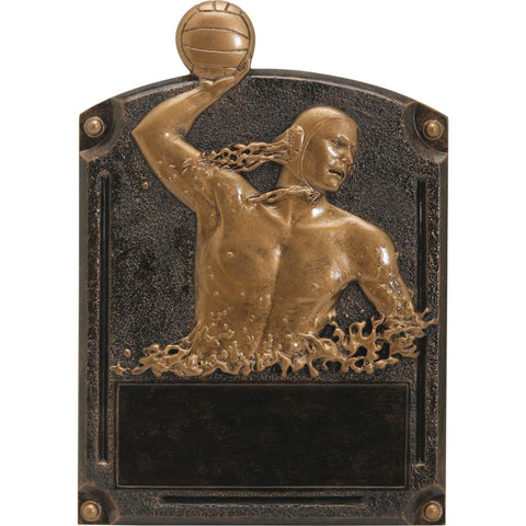 Water Polo, Male, Legends of Fame Resin Trophy