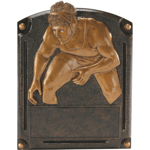Wrestling Legends of Fame Resin Trophy