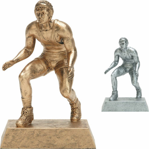 Wrestling, Male, Resin Figure in both colors