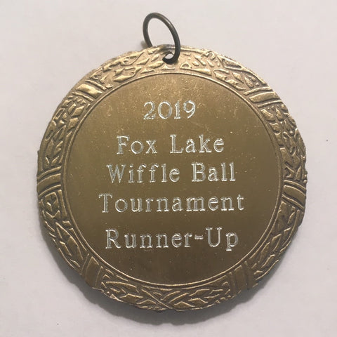 Tennis XR Medal, 2""
