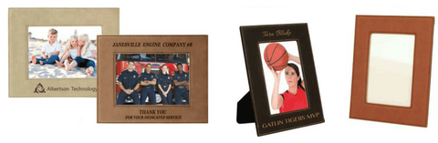 Leatherette Picture Frame Collection