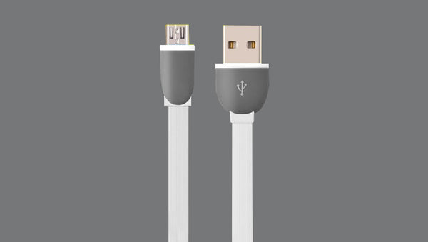 Micro USB to USB-A Flat Cables