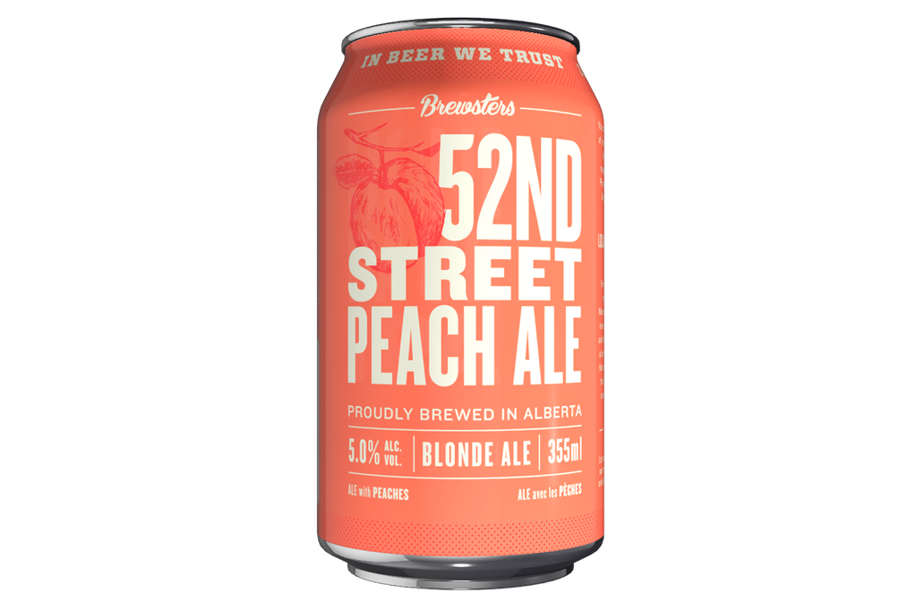 52ND Street Peach Ale 6 Pack