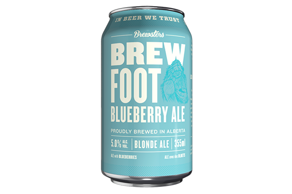 Brewfoot Blueberry 6-pack