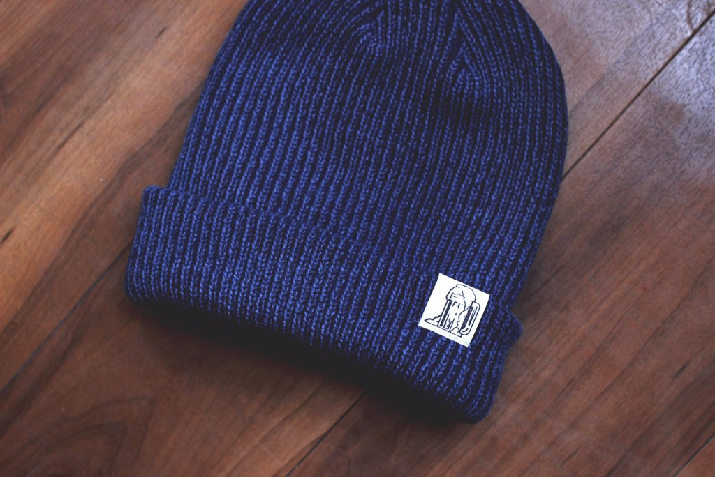 Navy Slouch Toque