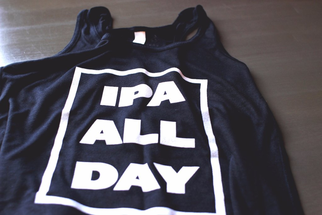 IPA ALL DAY  Women's Tank