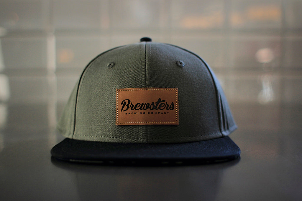 Olive Drab with Black brim