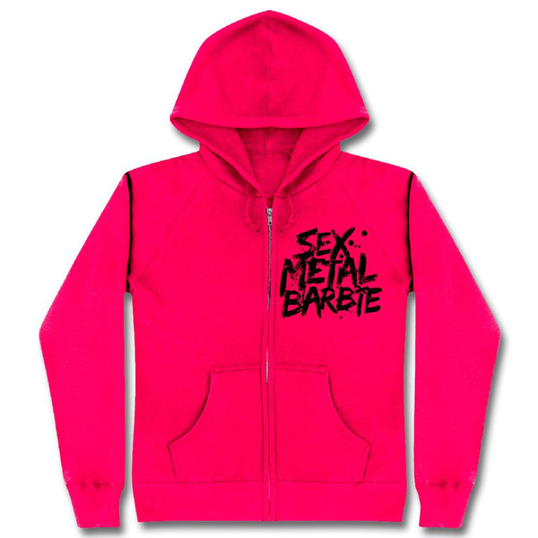 In This Moment Sex Metal Barbie Ladies Zip Hoodie