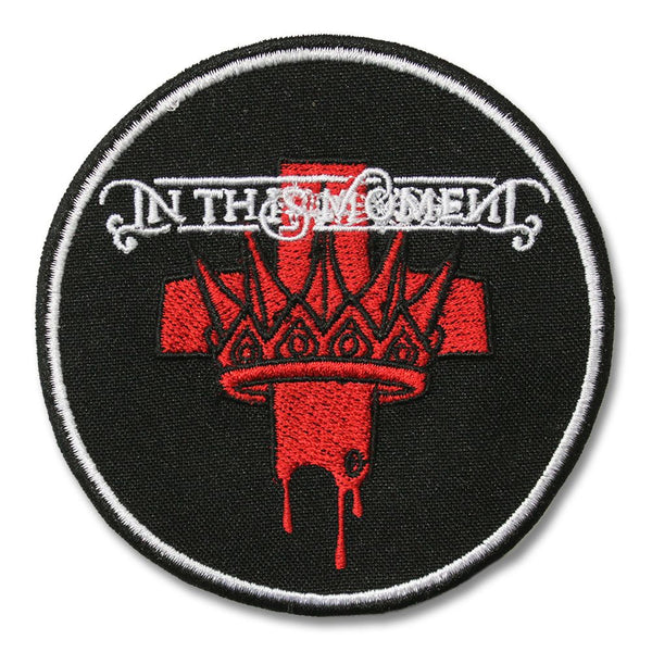 In This Moment Crown Logo Patch