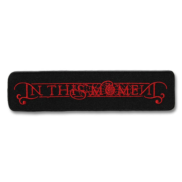 In This Moment Logo Embroidered Patch