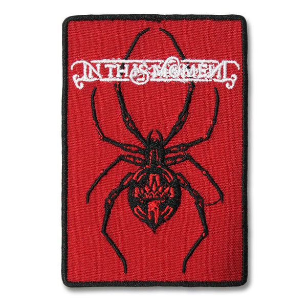 In This Moment Spider Embroidered Patch