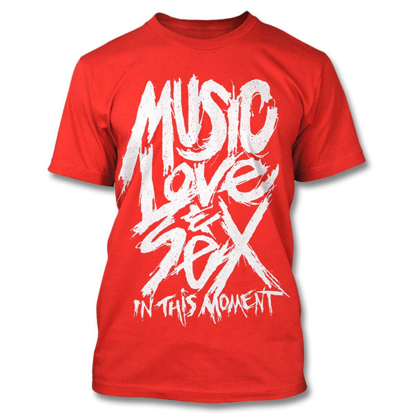 Music Love & Sex T-shirt