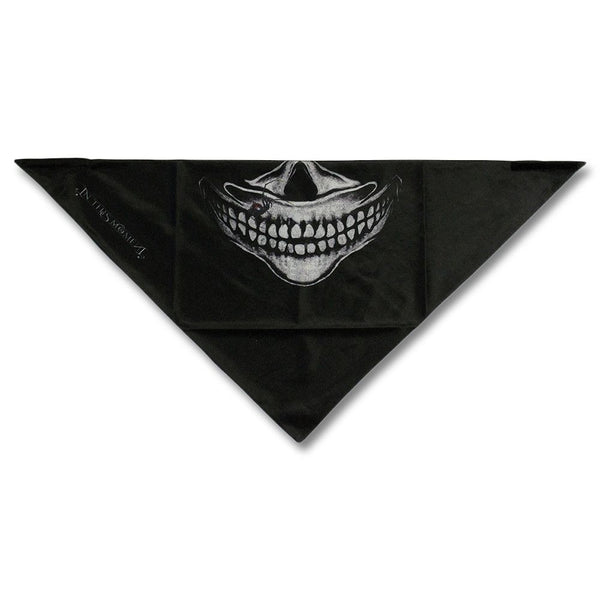 Skeleton Face Mask - Black
