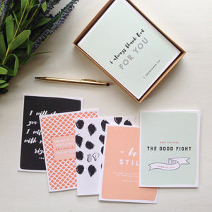 Biblical Inspiration Set (6 Cards w/ Envelopes)