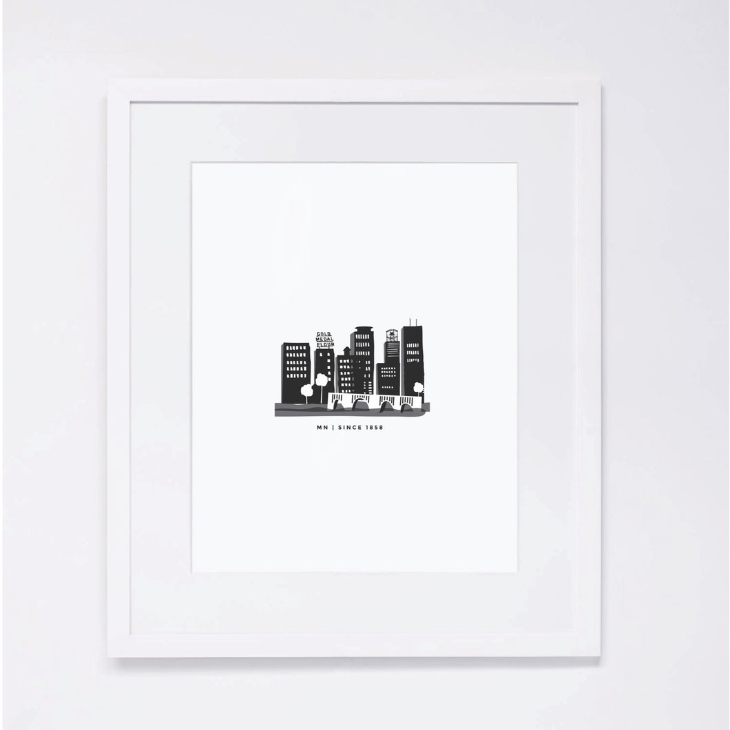 Downtown MPLS Print