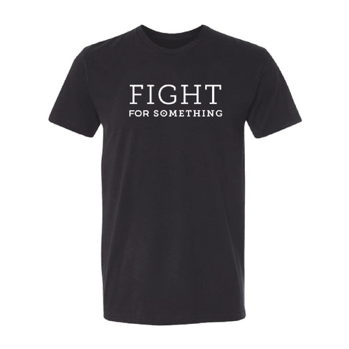 Fight For Something Premium Sueded T-Shirt (Black) | Minnesota Mall