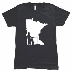 Minnesota Ice Fishing T-Shirt