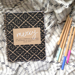 """Mercy"" (Pattern) Notebook"