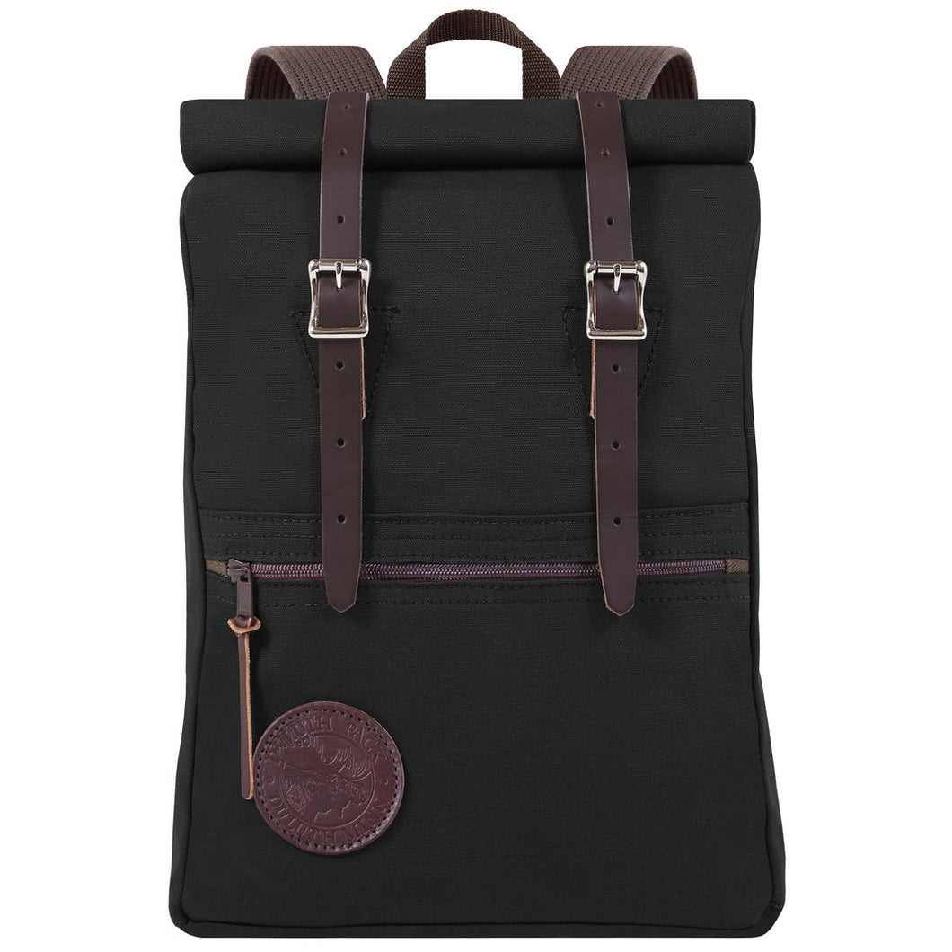Duluth Pack Scout Roll-Top (Black) | Minnesota Mall