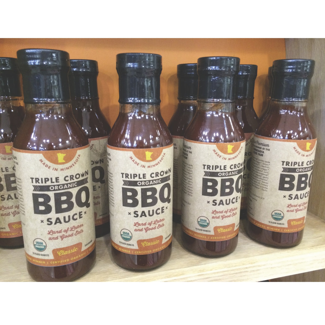 Triple Crown Organic BBQ Sauce