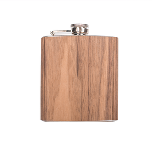 Wood Flask 6 oz.