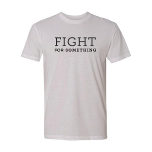 Fight For Something Premium Sueded T-Shirt (White) | Minnesota Mall