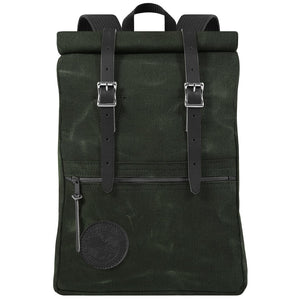 Duluth Pack Scout Roll-Top (Waxed Olive Drab) | Minnesota Mall