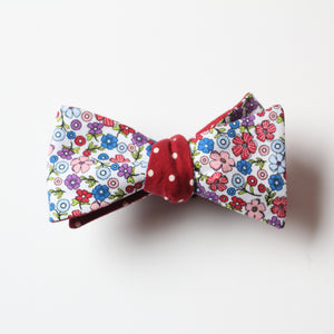 Winter Garden Reversible Bowtie